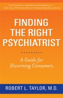 Finding the Right Psychiatrist