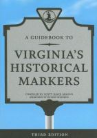 A Guidebook to Virginia's Historical Markers