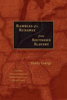 Rambles of A Runaway From Southern Slavery