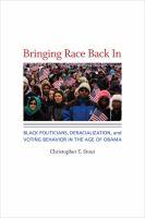 Bringing Race Back in