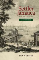Settler Jamaica in the 1750s