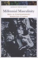 Millennial Masculinity