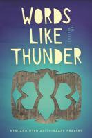 Words Like Thunder