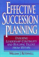 Effective Succession Planning
