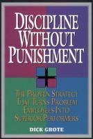 Discipline Without Punishment
