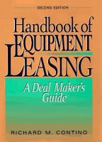 Handbook of Equipment Leasing