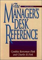Manager's Desk Reference