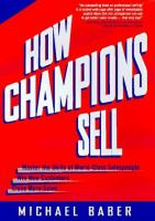 How Champions Sell