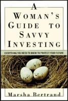 A Woman's Guide to Savvy Investing