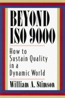 Beyond ISO 9000