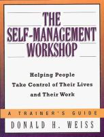 The Self-management Workshop