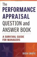The Performance Appraisal Question and Answer Book
