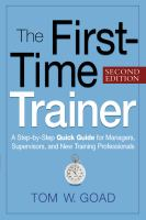The First-time Trainer