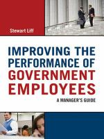 Improving the Performance of Government Employees