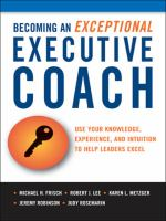 Becoming An Exceptional Executive Coach