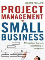 Project Management for Small Business