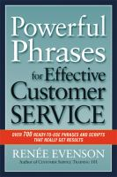 Powerful Phrases for Effective Customer Service