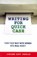 Writing for Quick Cash