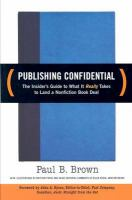 Publishing Confidential
