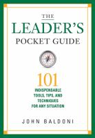 The Leader's Pocket Guide