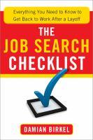 The Job Search Checklist