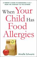 When your Child Has Food Allergies
