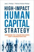 High-impact Human Capital Strategy