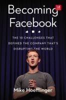 Becoming Facebook
