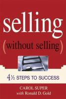 Selling Without Selling