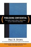 Publishing Confidential