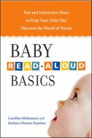 Baby Read-aloud Basics