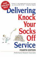 Delivering Knock your Socks Off Service