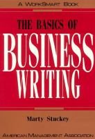 The Basics Of Business Writing
