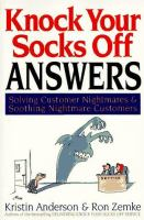 Knock your Socks Off Answers