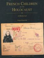 French Children of the Holocaust