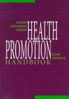 Health Promotion Handbook