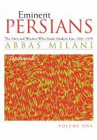 Eminent Persians
