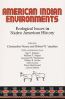 American Indian Environments