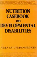 Nutrition Casebook on Developmental Disabilities