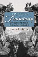 Frontiers of Femininity