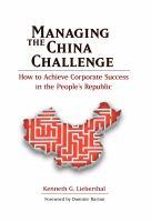 Managing the China Challenge