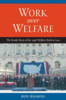 Work Over Welfare