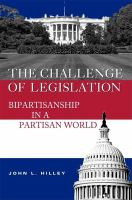 The Challenge of Legislation