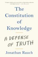 The Constitution of Knowledge