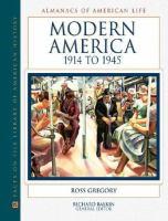 Modern America, 1914 to 1945