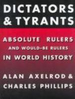 Dictators and Tyrants