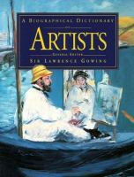 A Biographical Dictionary of Artists
