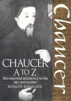 Chaucer A to Z