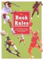 The Book Of Rules