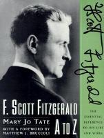 F. Scott Fitzgerald A to Z